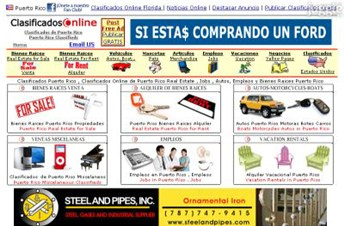 clasificadosonline.com Homepage Screenshot