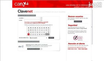 clavenet.net Homepage Screenshot