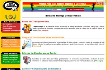 computrabajo.com.mx Homepage Screenshot