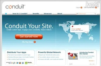 conduit.com Homepage Screenshot