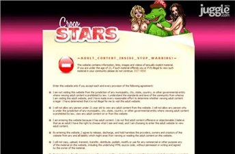 crocostars.com Homepage Screenshot
