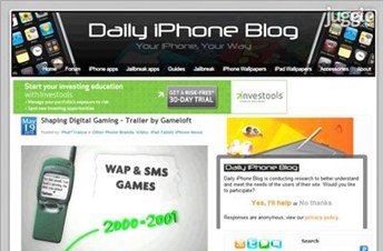 dailyiphoneblog.com Homepage Screenshot