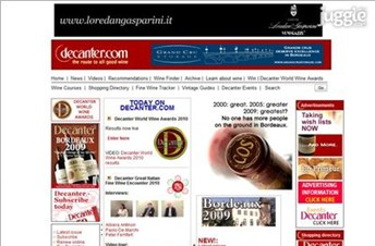 decanter.com Homepage Screenshot
