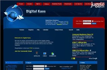 digital-kaos.co.uk Homepage Screenshot