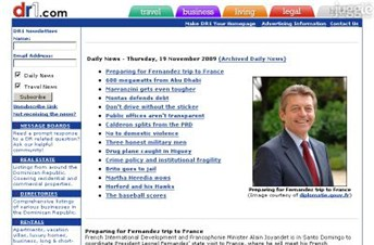 dr1.com Homepage Screenshot