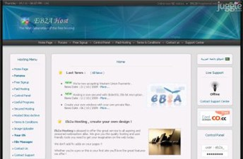 eb2a.com Homepage Screenshot