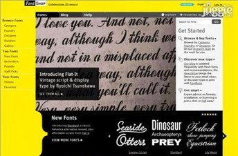 fontshop.com Homepage Screenshot