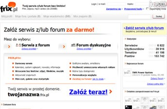 frix.pl Homepage Screenshot