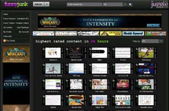 funnyjunk.com Homepage Screenshot