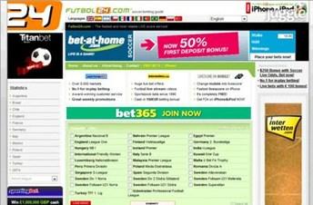 futbol24.com Homepage Screenshot
