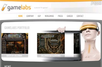 gamelabs.de Homepage Screenshot
