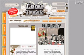 gametrack.com.br Homepage Screenshot