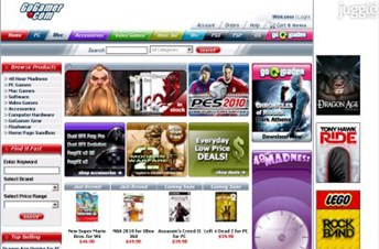 gogamer.com Homepage Screenshot
