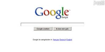 google.be Homepage Screenshot
