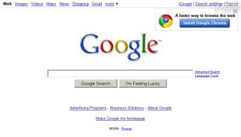 google.com Homepage Screenshot