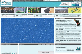 gruppocarige.it Homepage Screenshot