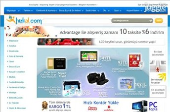 hizlial.com Homepage Screenshot