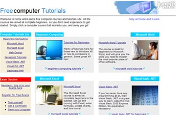 homeandlearn.co.uk Homepage Screenshot