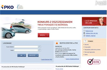 ipko.pl Homepage Screenshot