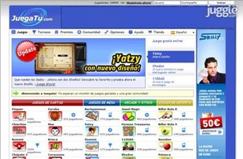 juegatu.com Homepage Screenshot