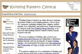 Knitting Pattern Central Directory : KNITTING PATTERNS COM FREE PATTERNS