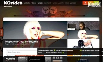 kovideo.net Homepage Screenshot