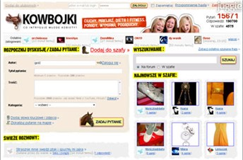 kowbojki.pl Homepage Screenshot