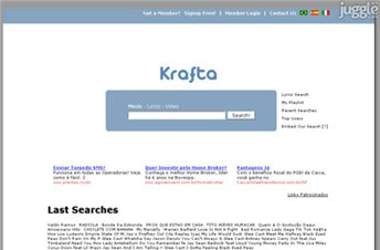 krafta.info Homepage Screenshot