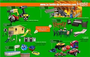 le-jardin-de-catherine.com Homepage Screenshot