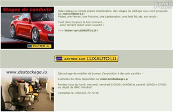 luxauto.lu Homepage Screenshot