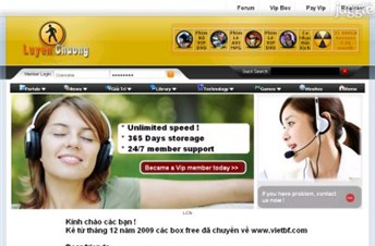 luyenchuong.net Homepage Screenshot
