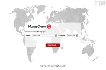 moneygram.com Homepage Screenshot