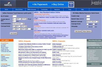nriol.com Homepage Screenshot
