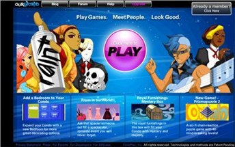 ourworld.com Homepage Screenshot