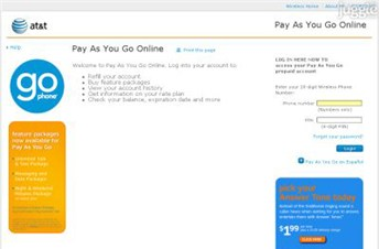 paygonline.com Homepage Screenshot