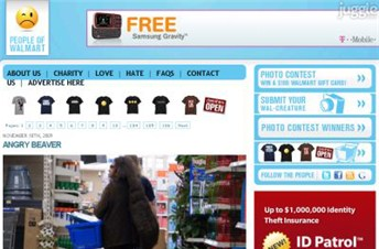 peopleofwalmart.com Homepage Screenshot