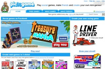 pictogame.com Homepage Screenshot