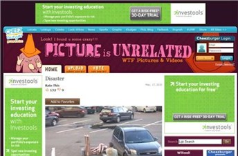 pictureisunrelated.com Homepage Screenshot