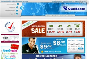 qualispace.com Homepage Screenshot
