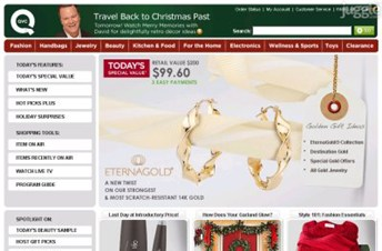 qvc.com Homepage Screenshot