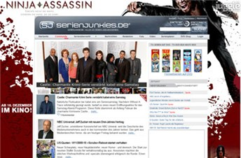 serienjunkies.de Homepage Screenshot