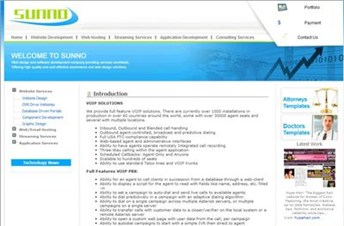 sunno.com Homepage Screenshot