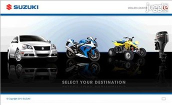 suzuki.com Homepage Screenshot