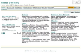 thalesdirectory.com Homepage Screenshot