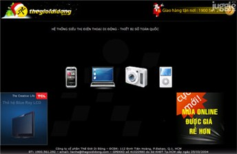 thegioididong.com Homepage Screenshot