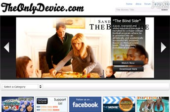theonlydevice.com Homepage Screenshot