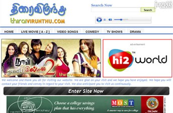 thiraivirunthu.com Traffic Rankings, Whois Data, and Website ...