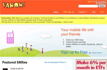 vakow.com Homepage Screenshot