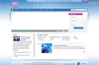vdc.com.vn Homepage Screenshot