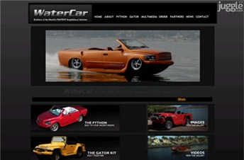 watercar.com Homepage Screenshot